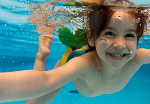 Học bơi cùng con 3