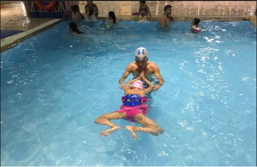 Cách học bơi ếch 4