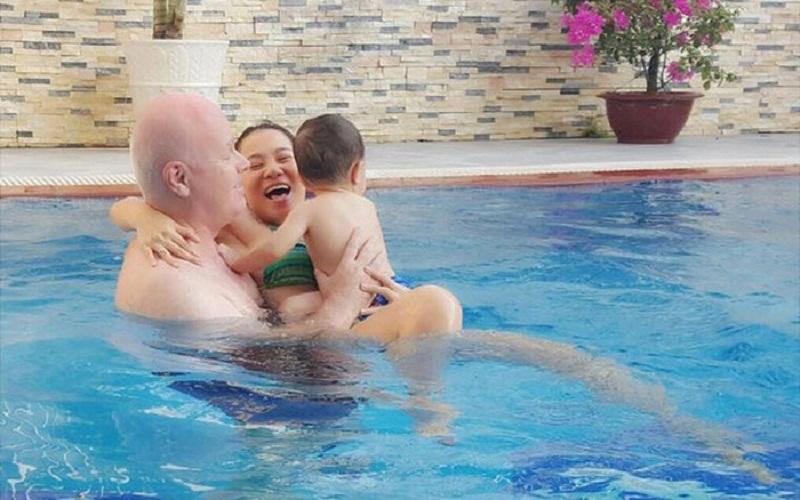 Bơi trong nướ lạnh