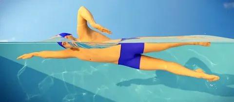 Kinh nghiệm học bơi trườn sấp cho người bắt đầu học